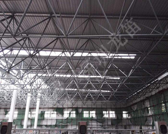 深圳市第七高级中学游泳池网架工程