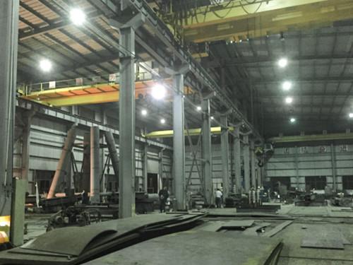 钢结构加工剪影