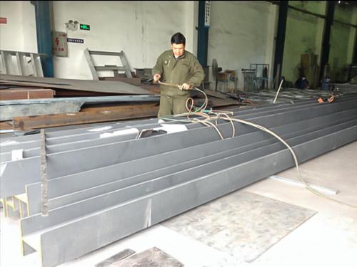 钢结构生产及吊装出货剪影