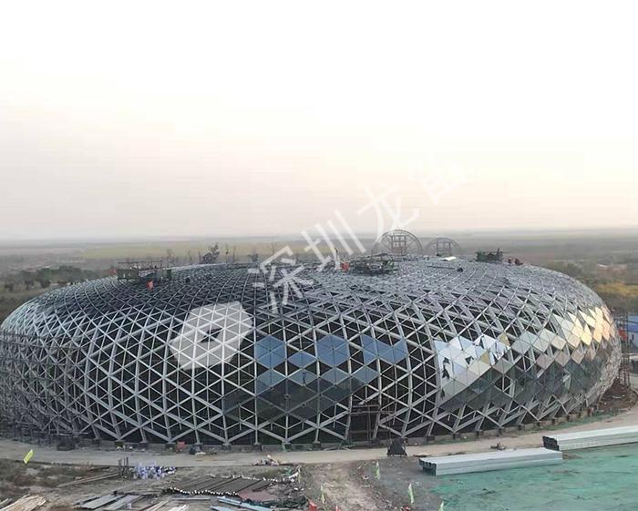钢结构滨州会展中心项目